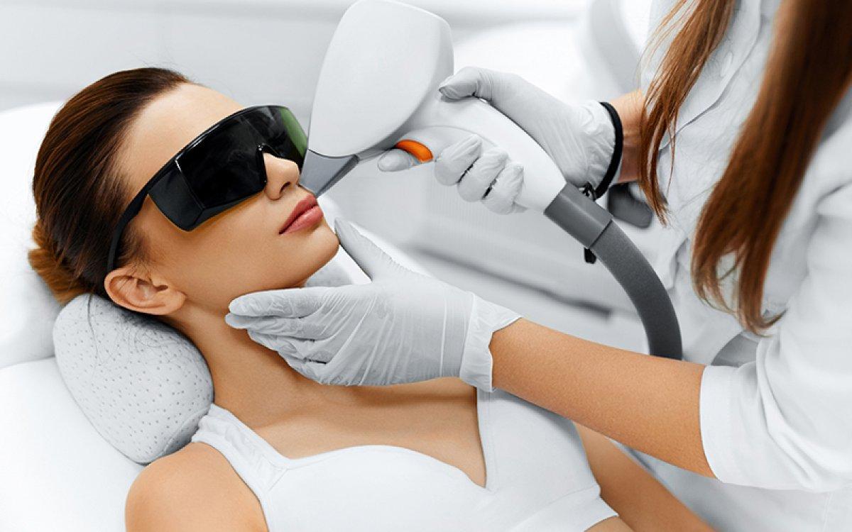 Depilacion facial láser